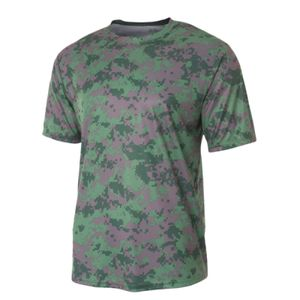 Youth Camo Performance Crew T-Shirt Thumbnail